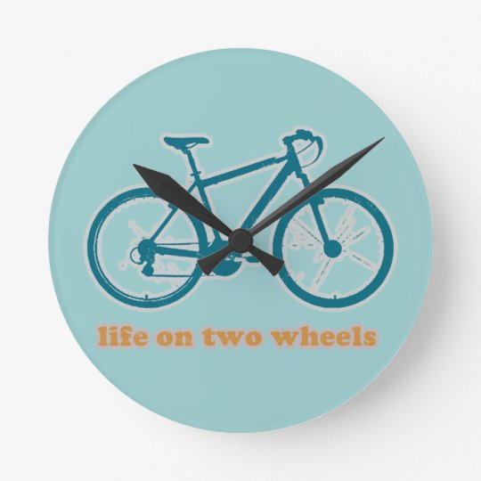life on wheels - bikes round clock