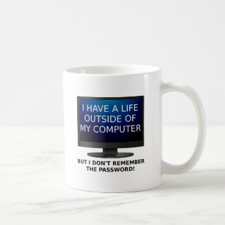 Life Password Funny Mug