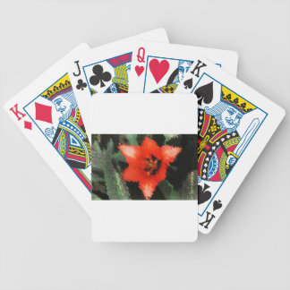 Life Pattern For People Who Live Life Fully Bicycle Playing Cards