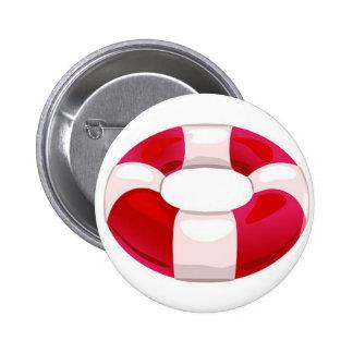 Life Preserver Pinback Button