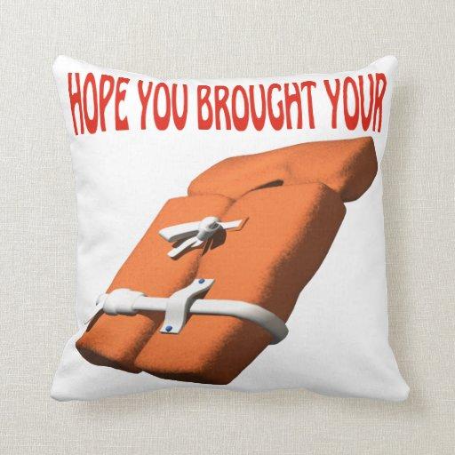 Life Preserver Pillows