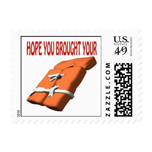 Life Preserver Postage Stamp