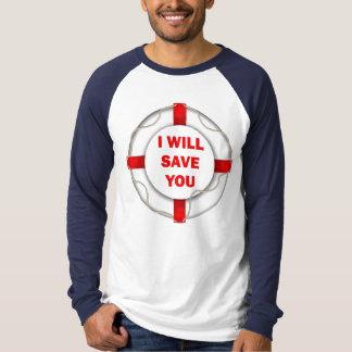 Life Preserver Rescue T Shirt
