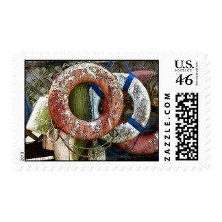 Life Preserver Rings Stamp
