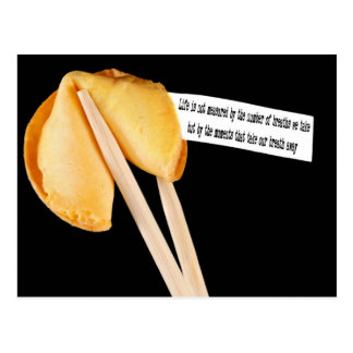 Life Quote fortune cookie Postcard