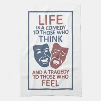 LIFE quote kitchen towel