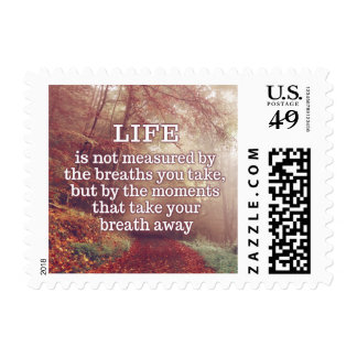 Life Quote postage stamps