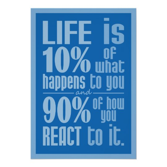 LIFE QUOTE Poster Zazzle Fascinating Life Quote Poster
