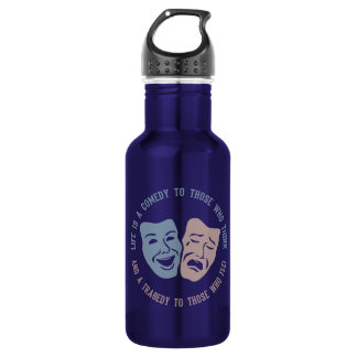 LIFE quote Stainless Steel Water Bottle