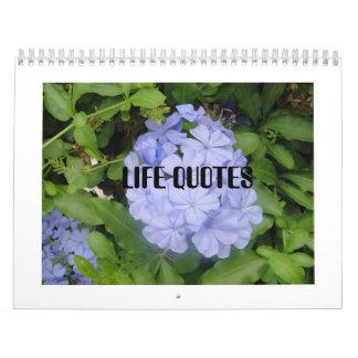 Life Quotes Calendar