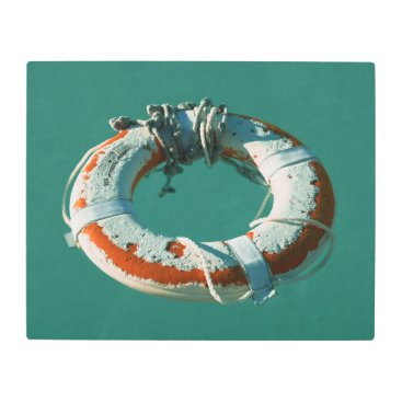 Beach Themed Life Ring Art Photograph