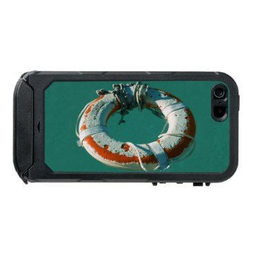 Beach Themed Life Ring Art Photograph Waterproof Case For iPhone SE/5/5s