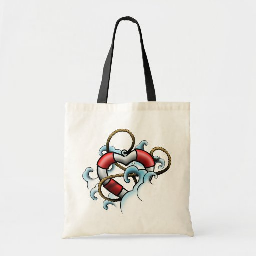 life ring canvas bags