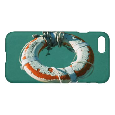 Beach Themed Life Ring iPhone 7 Case