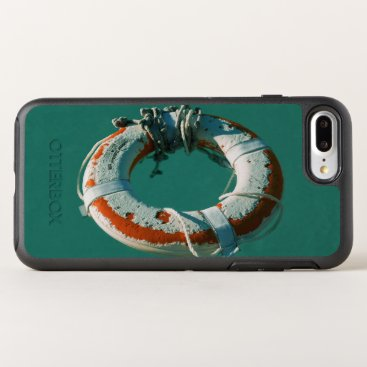 Beach Themed Life Ring OtterBox Symmetry iPhone 7 Plus Case