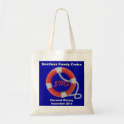 Life Ring Personalized Tote Bag bag