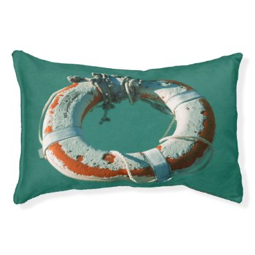 Beach Themed Life Ring Pet Bed
