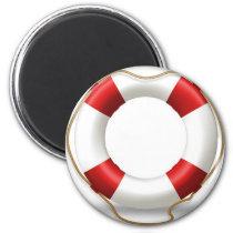 Life Ring Preserver Magnet