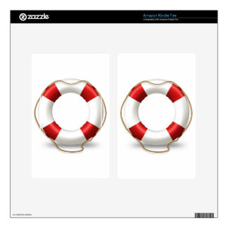 Life Ring Preserver Skin For Kindle Fire