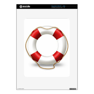 Life Ring Preserver Skin For The iPad