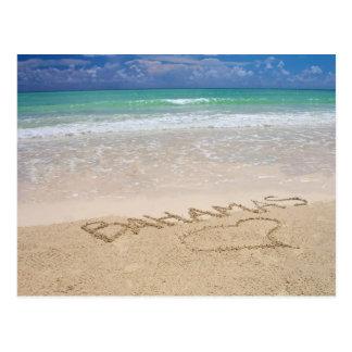 Life's a beach postcard