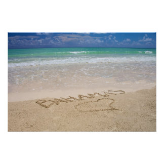 Life's a beach print