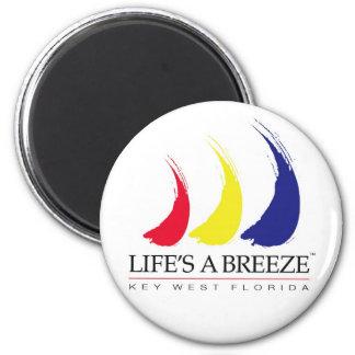 Life s a Breeze™_Paint-The-Wind_Key West magnet
