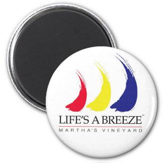 Life s a Breeze™_Paint-The-Wind_Martha s Vineyard Refrigerator Magnet