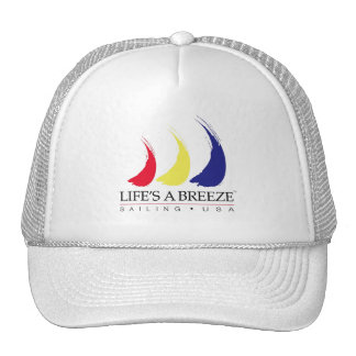 Life s a Breeze®_Paint-The-Wind_Sailing USA hat