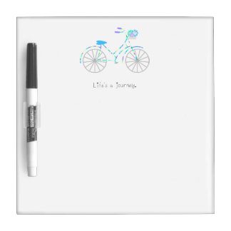 Life's a Journey. Dry Erase Board