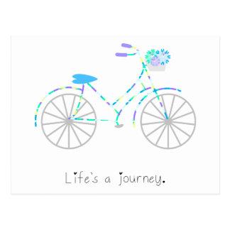 Life's a Journey. Postcard