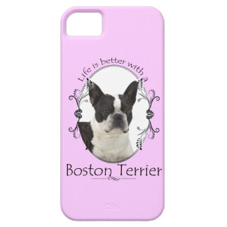 Life s Better Boston Terrier Smartphone Case iPhone 5 Covers