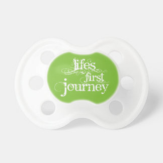 """Life's First Journey"" Baby Pacifier"