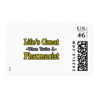 Life s Great Pharmacist Stamp