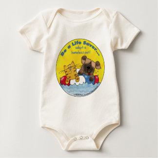 Life Saver- Adopt Homeless Pets Baby Bodysuit