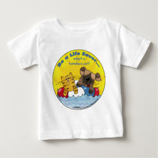 Life Saver- Adopt Homeless Pets Baby T-Shirt