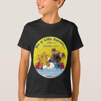 Life Saver- Adopt Homeless Pets T-Shirt