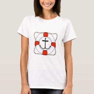 Life Saver & Anchor Women's Basic T-Shirt