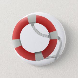Life Saver Pinback Button