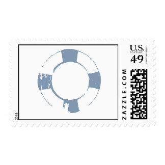 Life Saver Postage Stamp