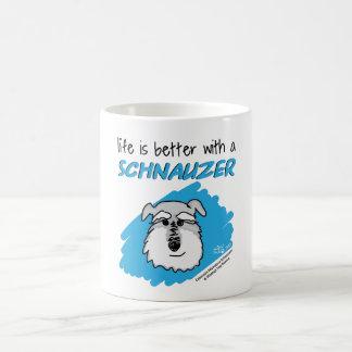 Life... Schnauzer - White Mug