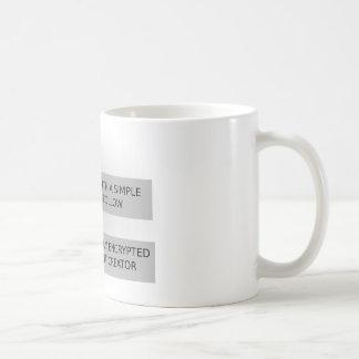 Life Script Coffee Mug