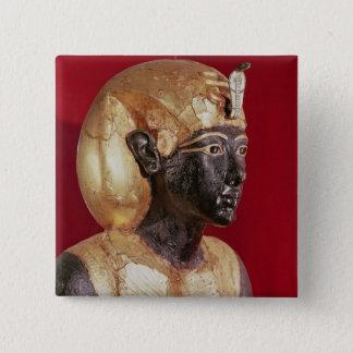 Life size statue of Tutankhamun Button