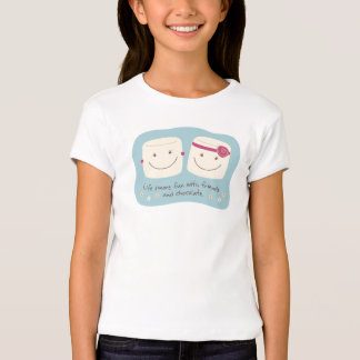 Life S'more Fun Marshmallow Friends White T-Shirt