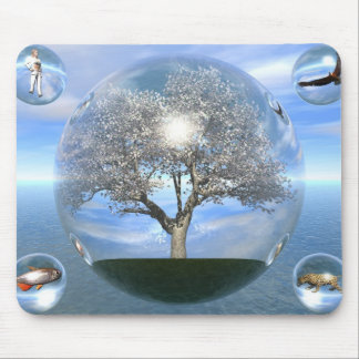 Life-Spheres Mouse Pad