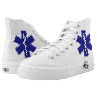 life star hospital emergency ambulance doctor medi High-Top sneakers