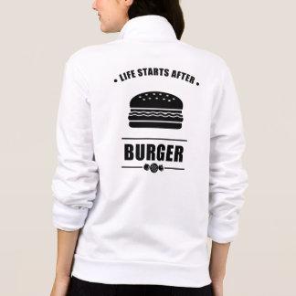 Life Starts After BURGER Jacket