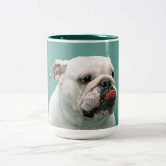 Life Sucks funny bulldog custom mugs