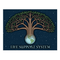 Life Support Sysytem Postcard