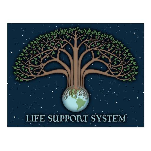 Life Support Sysytem Postcards